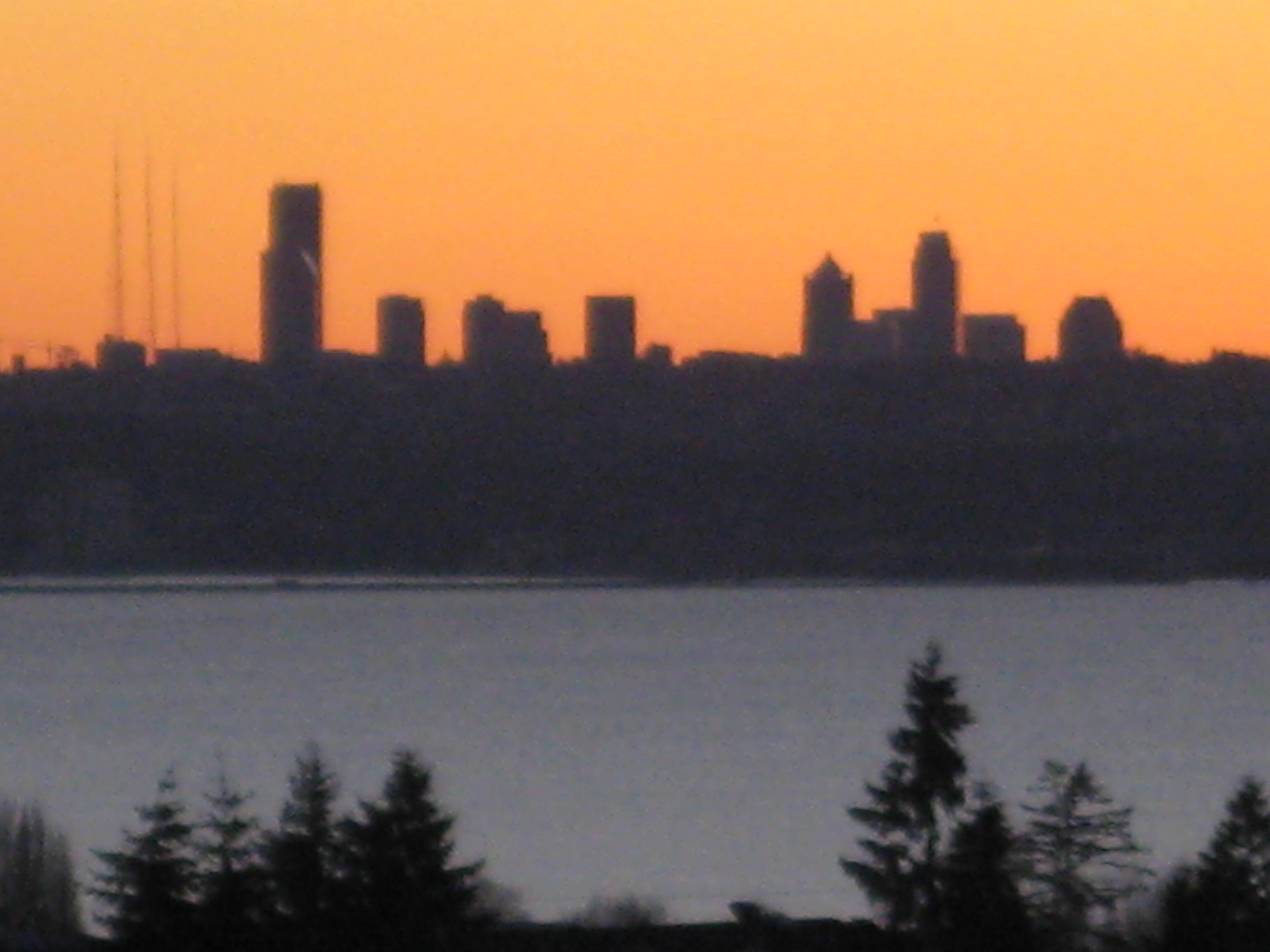 Sunset Views of Seattle