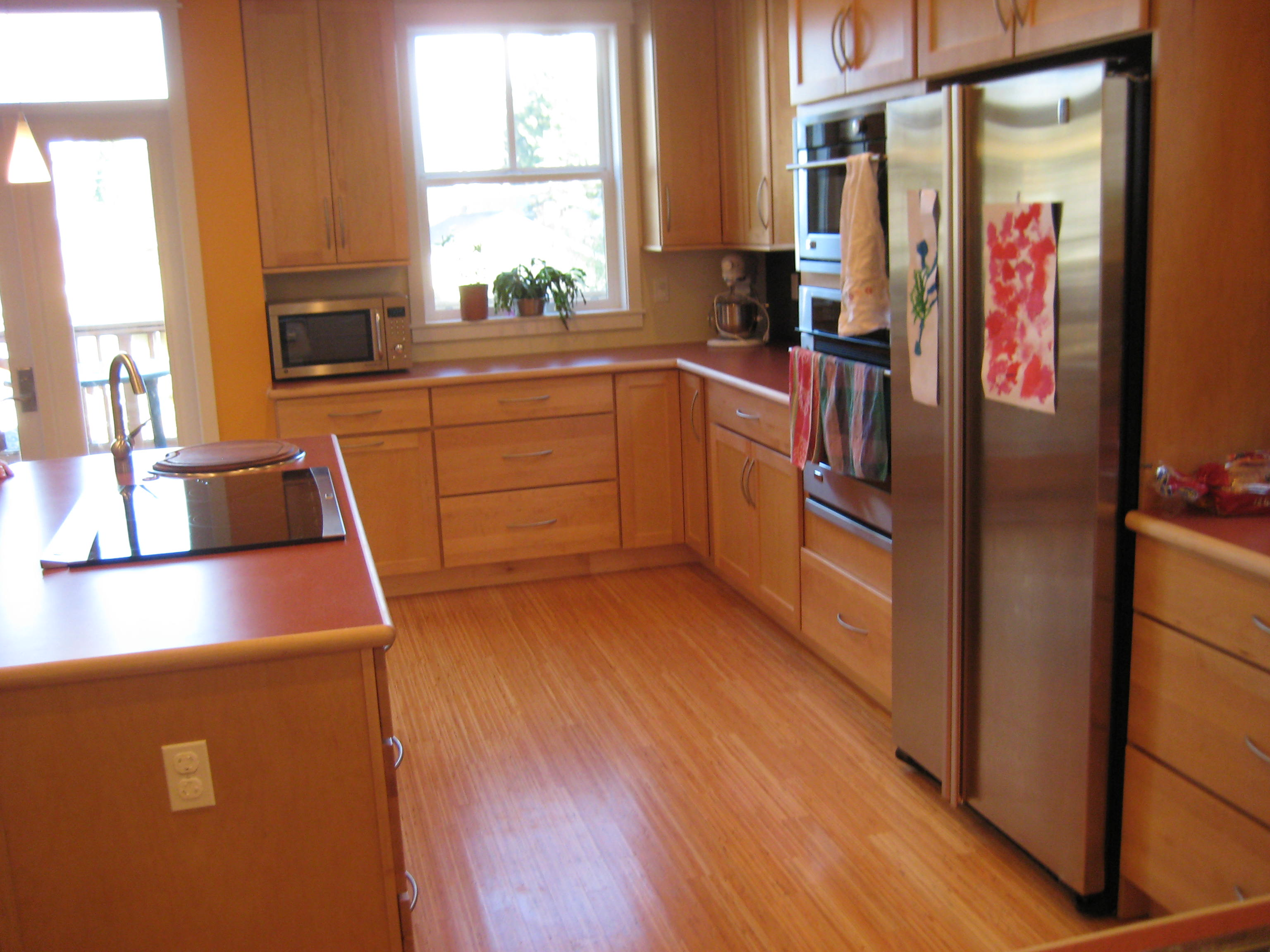 Kitchen with Universal Design Features