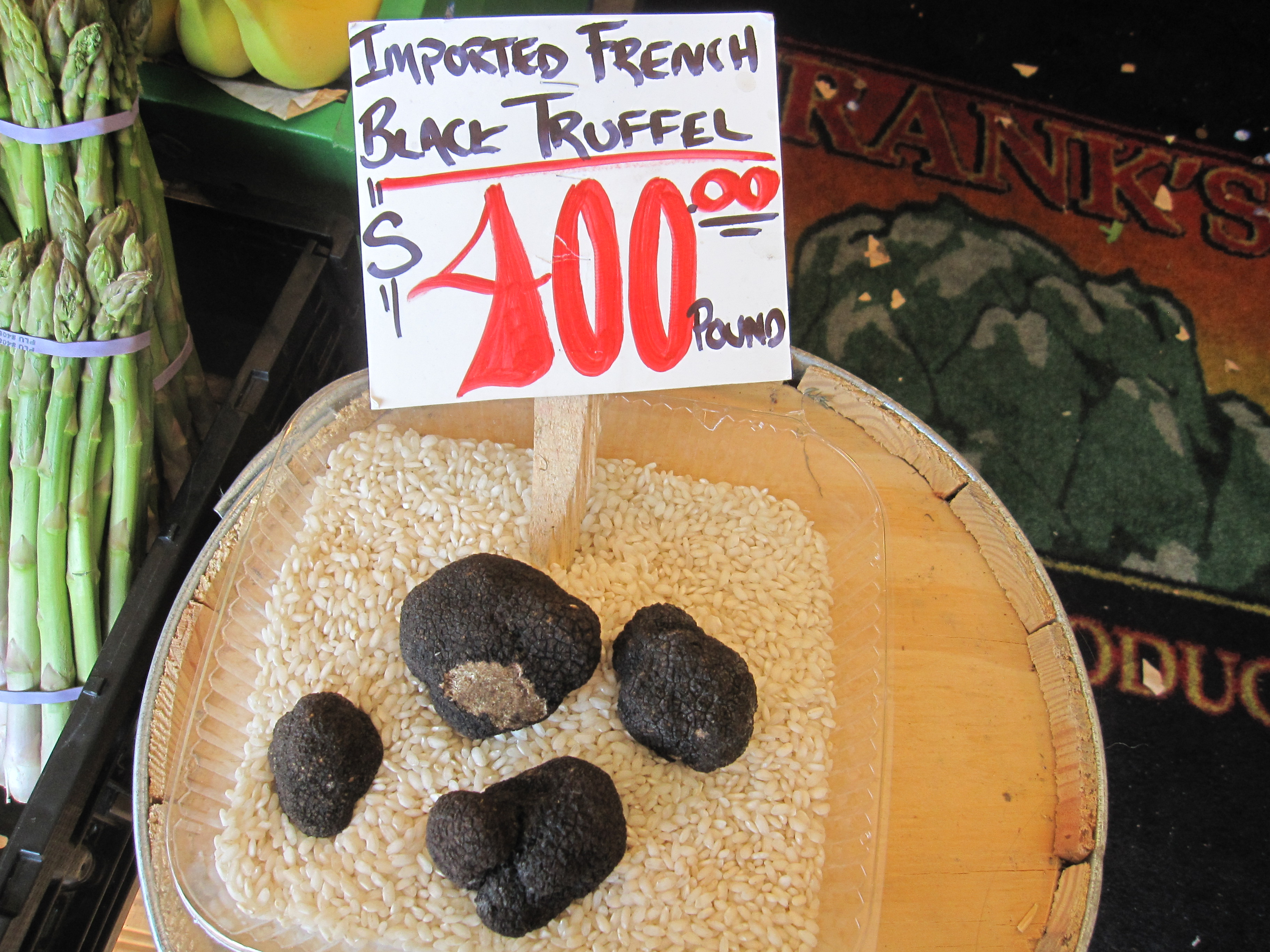 Expensive Truffles at Seattle's Pike Place Market