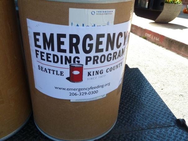 Food donations on Seattle's eastside